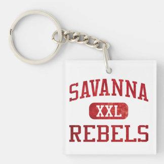 Savanna Rebels Athletics Key Chains