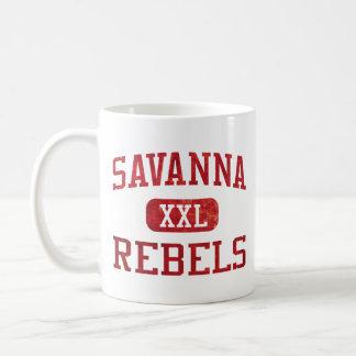Savanna Rebels Athletics Classic White Coffee Mug
