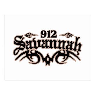Savannah 912 postcard