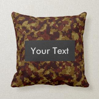 Savannah Camouflage Customizable Cushion