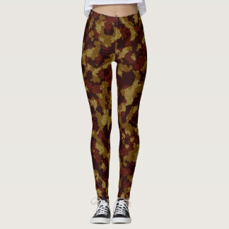 Savannah Camouflage Full Print Leggings
