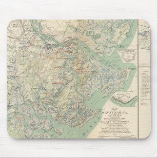 Savannah, Ga and vicinity Mouse Pad