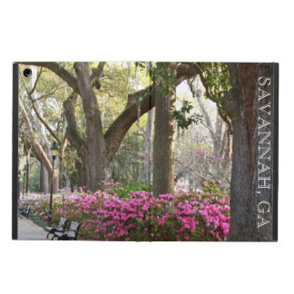 Savannah GA in Spring   Forsyth Park Azaleas Oaks Case For iPad Air