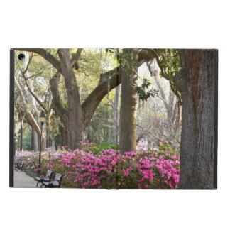 Savannah GA in Spring   Forsyth Park Azaleas Oaks iPad Air Case