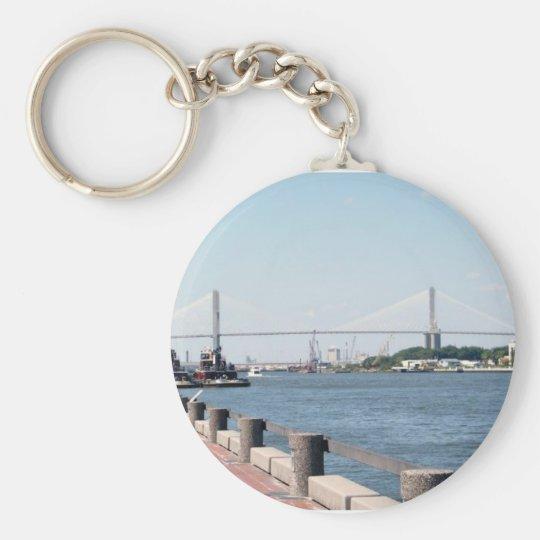 Savannah, GA Key Ring