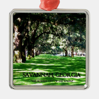 SAVANNAH, GEORGIA CHRISTMAS ORNAMENT