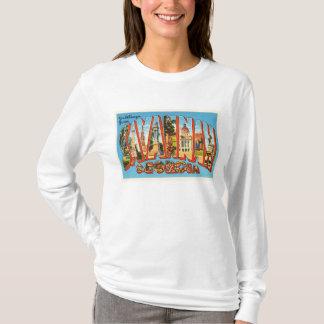 Savannah Georgia GA Old Vintage Travel Souvenir T-Shirt