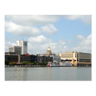Savannah Georgia Postcard