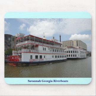 Savannah Georgia Riverboats Mouse Mat