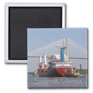 Savannah, Georgia Square Magnet