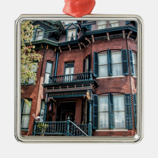 Savannah Georgia Victorian Historical House Christmas Ornament