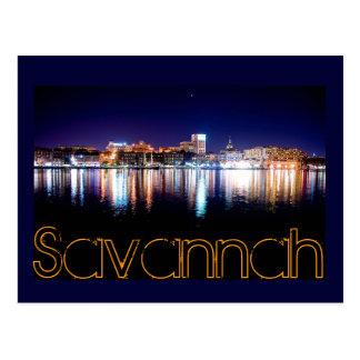 Savannah, Georiga, U.S.A. Postcard