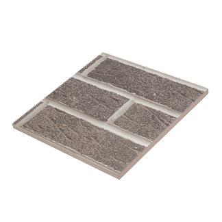 Savannah Gray Brick And White Mortar Tile