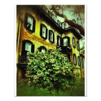 Savannah House on Gaston Street Photo Art