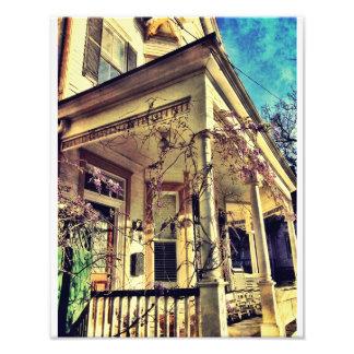 Savannah Porch Photo Art