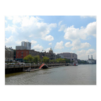 Savannah River Front Postcard
