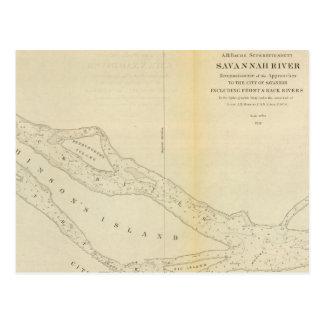 Savannah River Postcard