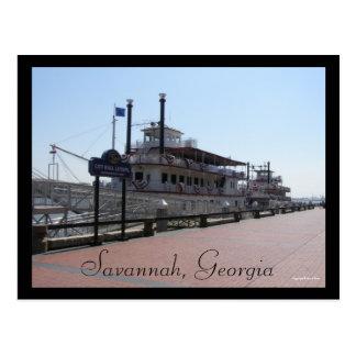 Savannah Riverboats Postcards