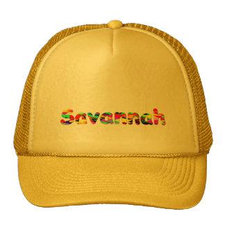 Savannah Solid Yellow Trucker Cap