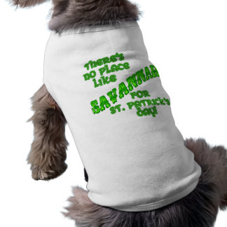 SAVANNAH St Patricks Day Shirt