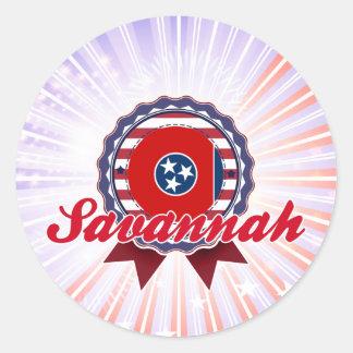 Savannah, TN Sticker