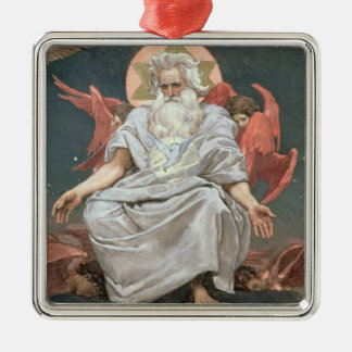 Savaoph, God the Father, 1885-96 Christmas Ornament