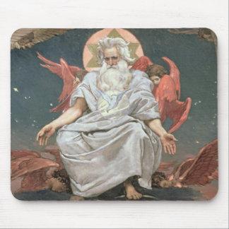 Savaoph, God the Father, 1885-96 Mouse Mat
