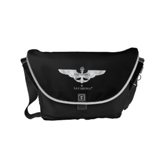Savarona logo BJ-1903 Rickshaw Messenger Bag Small