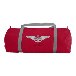 Savarona Logo Duffle Gym Bag