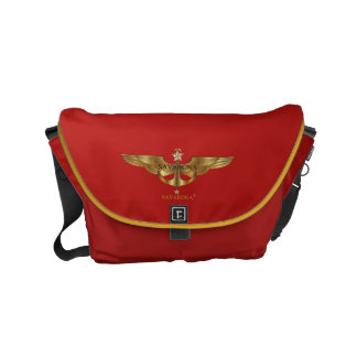 Savarona logo GS-1905 Rickshaw Small Messenger Bag