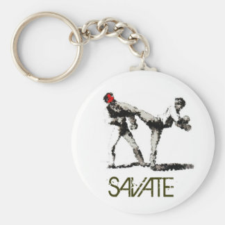 SAVATE impression Key Ring