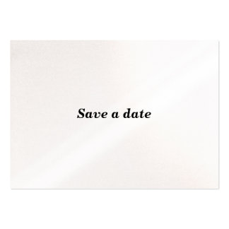 SAVE A DATE WITH ME. LARGE BUSINESS CARDS (Pack OF 100)