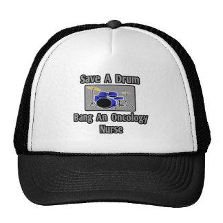 Save a Drum...Bang an Oncology Nurse Mesh Hat