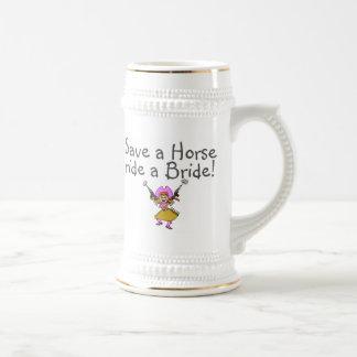 Save a Horse Ride a Bride Mug