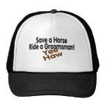 Save A Horse Ride A Groomsman Cap