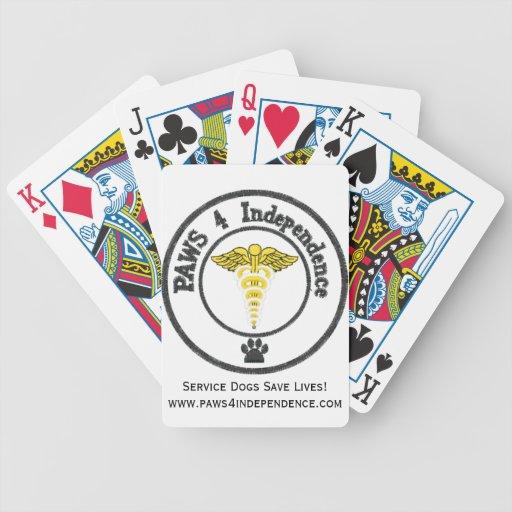 Save a human, support a service dog card decks