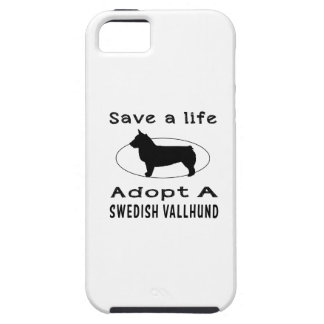 Save a life adopt a Swedish Vallhund iPhone 5 Covers