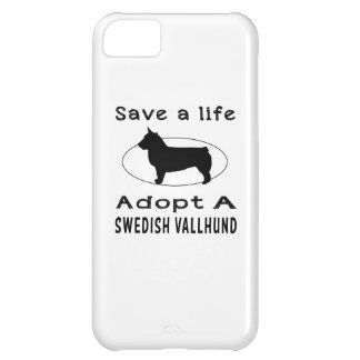 Save a life adopt a Swedish Vallhund iPhone 5C Covers