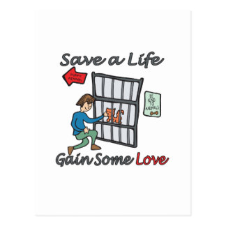 Save A Life Cat Adoption Post Cards