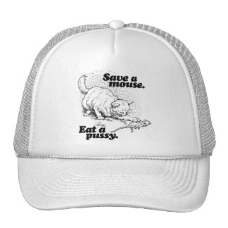 SAVE A MOUSE -.png Hats