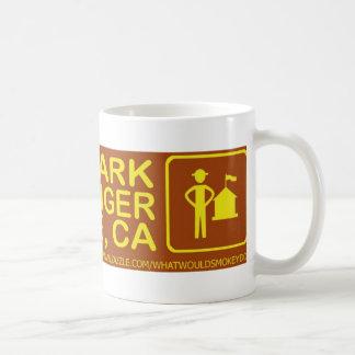 save a park hug a ranger san jose stuff basic white mug