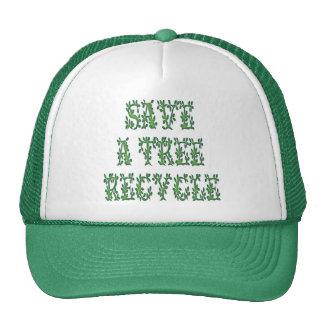 Save a Tree (2) Hats