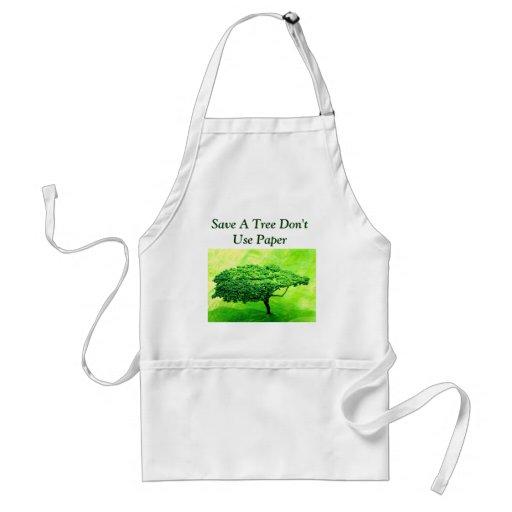 Save A Tree Apron