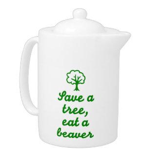 Save a tree eat beaver