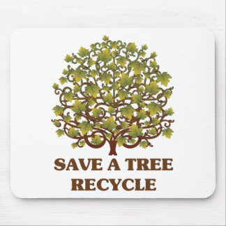 Save a Tree Mouse Pads
