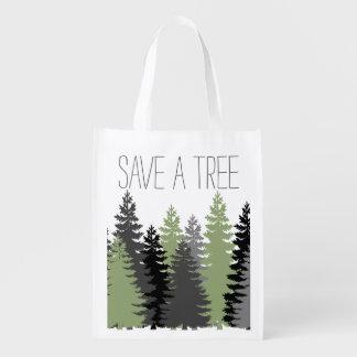Save A Tree Pine Tote