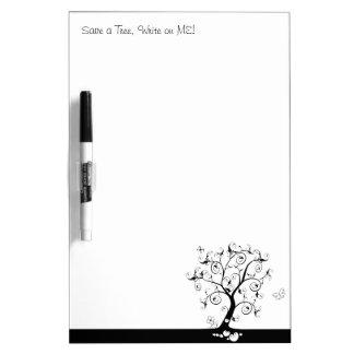 Save a Tree Write on ME Dry-Erase Whiteboard
