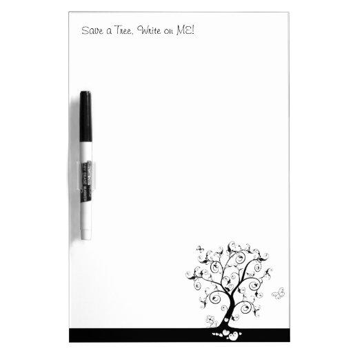 Save a Tree, Write on ME! Dry-Erase Whiteboard