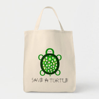 Save a Turtle Tote Bag