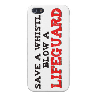 Save a Whistle, Blow a Lifeguard Cover For iPhone 5